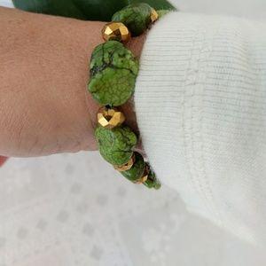 Jewelry - Green turquoise bracelet